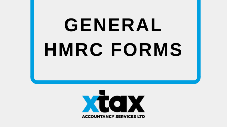 General HMRC Forms