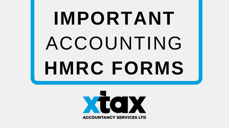 Important Accounting HMRC Forms